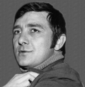 Photo of Richard Dawson as Newkirk from the television program Hogan's Heroes.