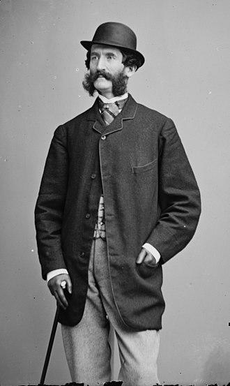 Richard Grant White - Photograph of White by Mathew Brady, c. 1865