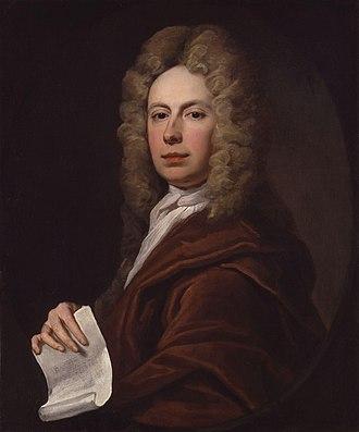 Richard Leveridge - The youthful portrait of Dick Leveridge, c. 1710-1720