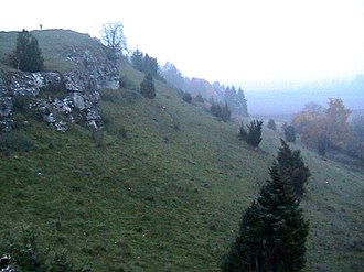 Nördlinger Ries - Image: Ries Crater Rim