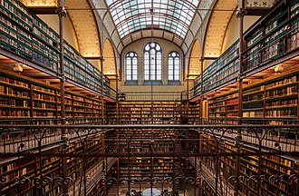 Rijksmuseum - The library in the Rijksmuseum