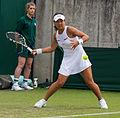 Riko Sawayanagi 3, 2015 Wimbledon Qualifying - Diliff.jpg