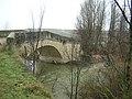Rio Duratón puente romanico Duratón.JPG