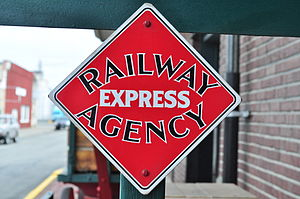 Railway Express Agency - Railway Express Agency logo