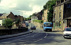 Barrowford - Image: Road junction in Barrowford, Lancashire geograph.org.uk 776422