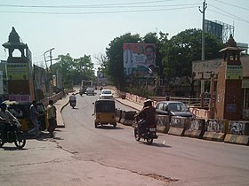 Road over bridge of Tenali-Guntur Road.jpg