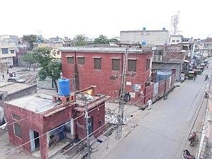 Jalalpur Jattan - Circular road of Sadhu Mahallah
