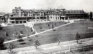 Hotel Roanoke - Hotel Roanoke circa 1910