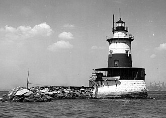 Robbins Reef Light - Image: Robbins Reef Light NY