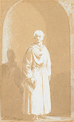 Robed Man in an Archway