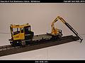 Robel Bullok BAMOWAG 54.22 Track Maintenance Vehicle - DB Bahnbau Kibri 16100 Modelismo Ferroviario Model Trains Modelleisenbahn modelisme ferroviaire ferromodelismo (11696362364).jpg
