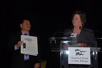 United States National Maritime Day - Image: Robert Valderrama Cheryl Cox 2011