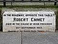 Robert Emmet Tablet - 131 Thomas Street Merchants Quay Dublin Ireland.jpg