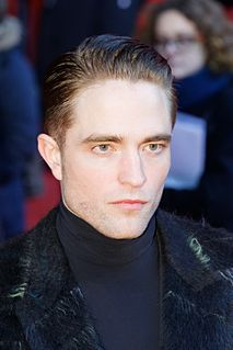 Robert Pattinson English actor