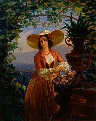 Italian Flower-Girl