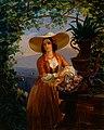 Robert Wilhelm Ekman - Italian Flower-Girl - A III 1910 - Finnish National Gallery.jpg