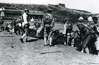 Northern Expedition - NRA troops preparing to attack Wuchang