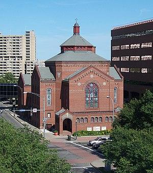 First Universalist Church (Rochester, New York) - First Universalist Church, August 2008