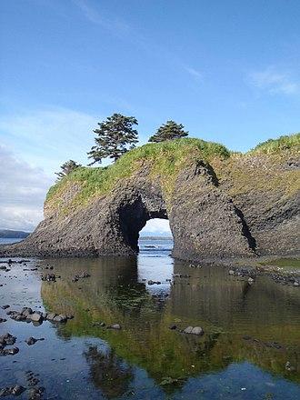 Saint Lazaria Wilderness - Rock arch on Saint Lazaria