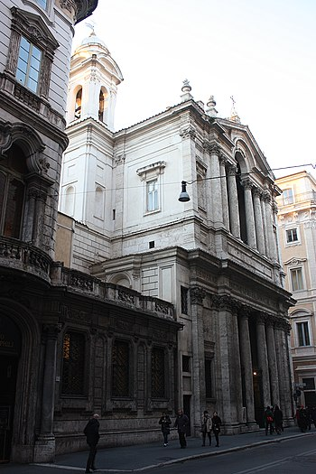 Rom, die Kirche Santa Maria in Via Lata.JPG