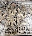 Roma, sarcofago con la morte di meleagro, collez. borghese, 180 dc ca. 02.JPG
