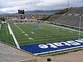 Romney Stadium, Home of the Utah State University Aggies, Logan, Utah (129256450).jpg