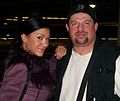 Rosa Mendes with Paul Billets.jpg