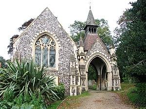 Rosary Cemetery, Norwich - Rosary Cemetery chapel, designed by Edward Boardman.