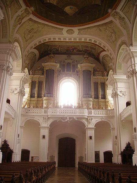 File:Rot an der Rot Kloster Rot St. Verena Innen Orgel 1.JPG