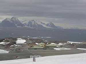Rothera Research Station - The base in summer