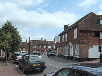 Rotherfield - Image: Rotherfield Sussex street