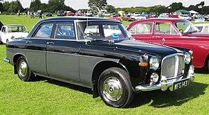 David Bache - Rover P5 3-litre