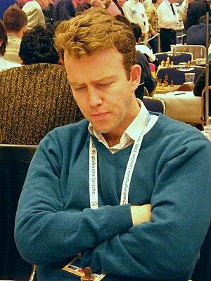Jonathan Rowson - Rowson at the 38th Chess Olympiad