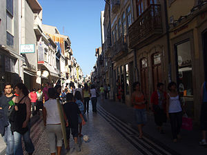 Rua da Junqueira - Junqueira is a traditional shopping street.