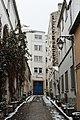 Rue Ligner (Paris), lycée Charles-de-Gaulle.jpg