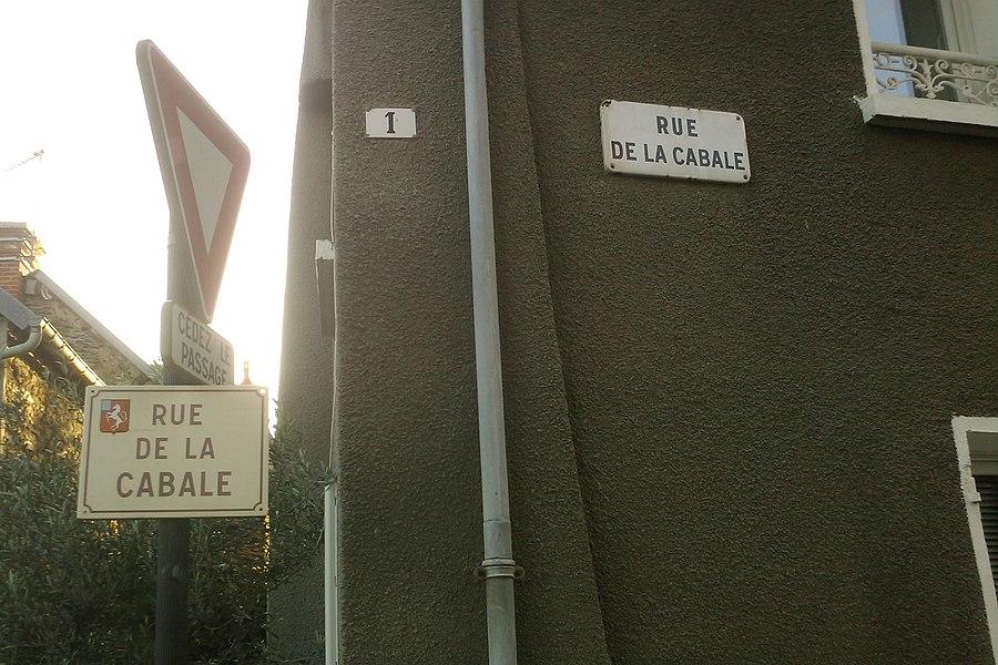 Rue de la cabale, la vraie...