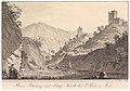 Ruine Altenburg und Burg Warth bei St Pauls in Südtirol.jpg