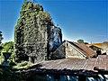 Ruine du clocher de l'abbatiale d'Aumonières.jpg