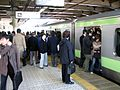 Rush hour at Ueno 03.JPG