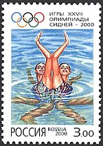 Russia stamp no. 611 - 2000 Summer Olympics.jpg