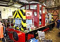 Ruston diesel loco in loco shed, Telford Steam Railway (geograph 2053927).jpg