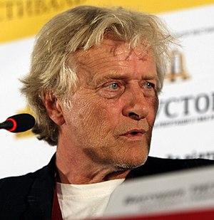Rutger Hauer - Hauer at the Odessa International Film Festival, 2010