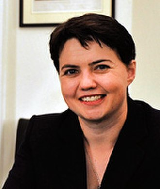 Scottish Conservative Party leadership election, 2011 - Image: Ruth Davidson MSP20120529