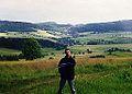 Rybnica Lesna, Gory Suche znad Kamionki, 6.7.1993r.jpg