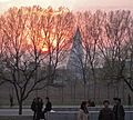 Ryugyong Hotel at sunset May 2010.jpg