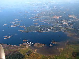 Särö Place in Halland, Sweden
