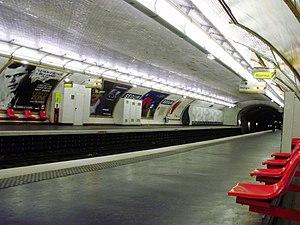 Ségur (Paris Métro) - Image: Ségur metro 03