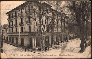 Sétif (Algeria). - Grand Hôtel de France.