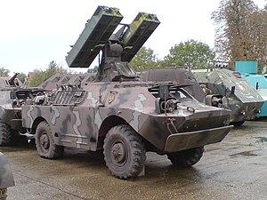 9K31 Strela-1 - Croatian 9K31.
