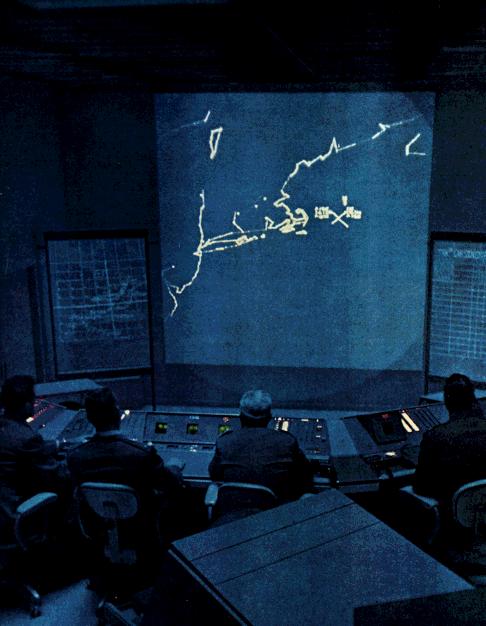 SAGE control room